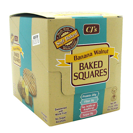 Chef Jay's Baked Squares, 6 Packets