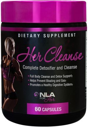 NLA For Her Her Cleanse, 60 Capsules