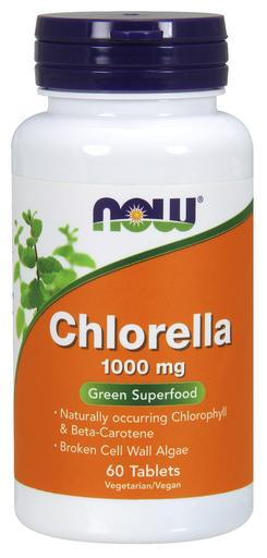 Chlorella 1000 mg, 60 Tablet 733739026309