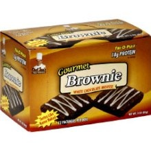 Brownie, 12 Bars, Luscious Peanut Butter Brownie Flavor 678991251109
