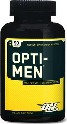 Optimum Nutrition OPTI-MEN, 90 Tablets