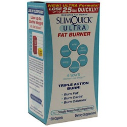 Slimquick Ultra Fat Burner, 120 Caplets 811568000841