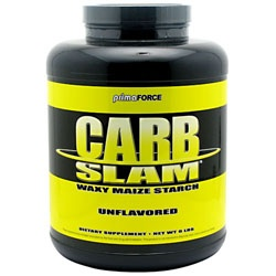 Carb Slam Waxy Maize Starch, 5.95 Pounds 811445020085