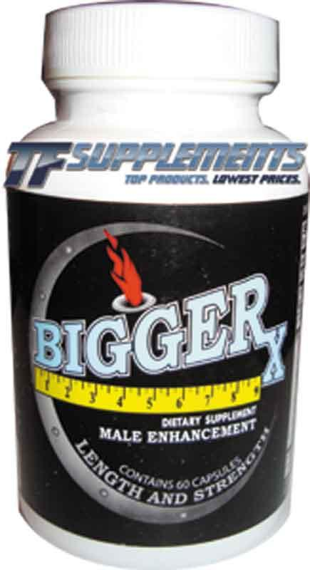 Bigger-X Male Enhancement, 60 Capsules 689076907736