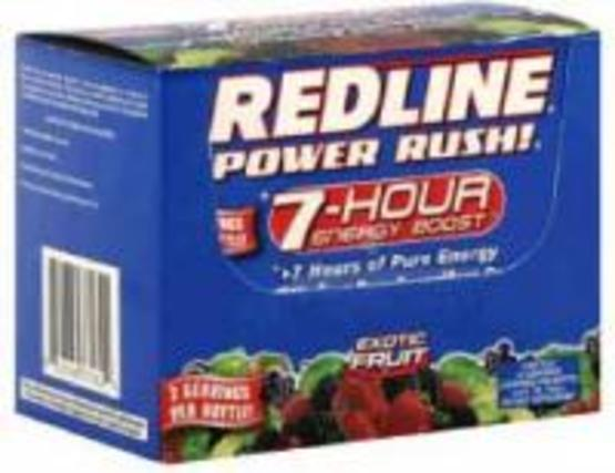 VPX Sports Redline Power Rush 7-HOUR Energy Boost, 12 Bottles