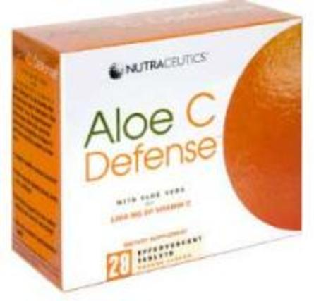 Nutraceutics Aloe C Defense by Nutraceutics, 28 Tablets