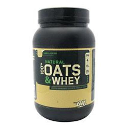 100% Natural Oats and Whey